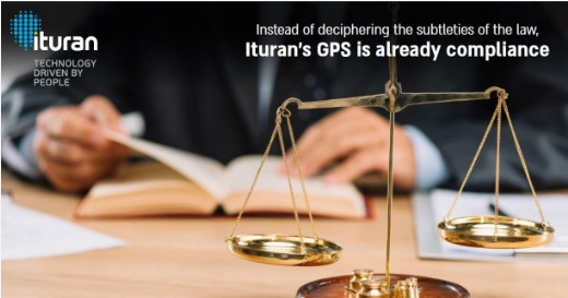 Ituran GPS is already compliant - Image of man with books and scales