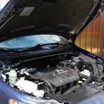 Used cars with open recalls can lead to trouble or wrecks - Image of car with hood open